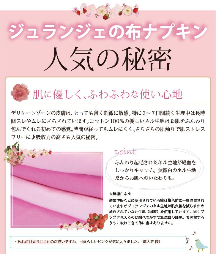 布ナプキン 染め完璧セット 人気のヒミツ01
