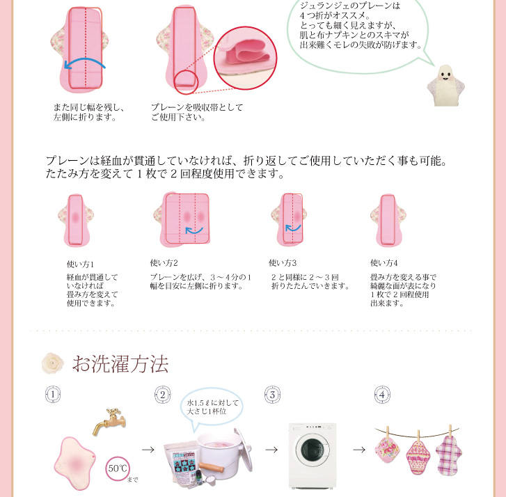 布ナプキン 染め完璧セット ご使用方法02